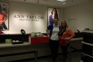 Ann Taylor donation